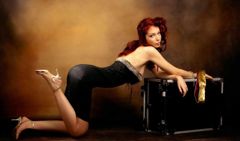 чемодан, девушки, обои, дорога, девушка, нравится,