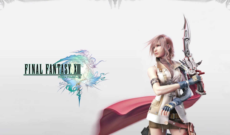final, fantasy, xiii, меч, девушка, search,