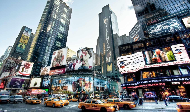 город, new, york, города, высоком, разрешений,