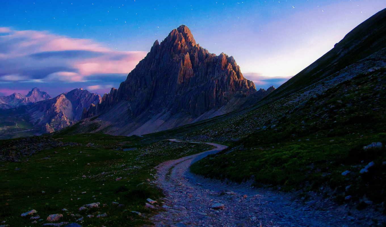 summer, утро, горы, июл, mountains, камни,