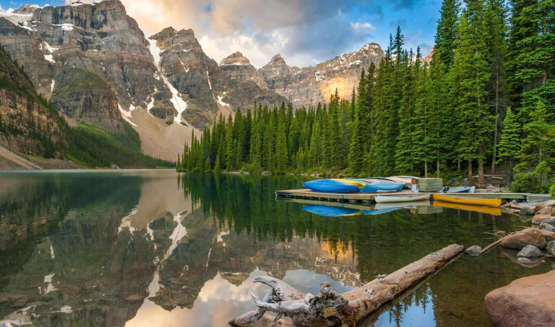 banff, national, park, vikipediyaoboi, лес, дерево, гора, природа, озеро, канада