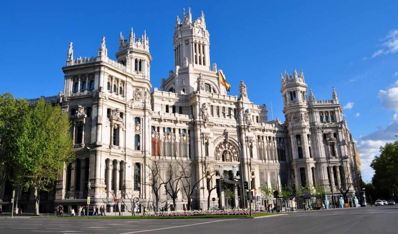 мадрид, мадрида, достопримечател, испания, площадь, architecture,