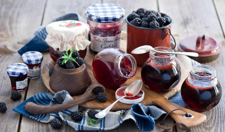 berries, blackberries, еда, джем, candy,