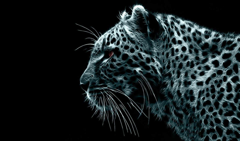 леопард, рисованный, животные, ipad, download, widescreen,