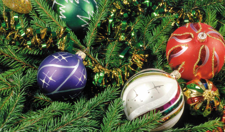 christmas, tree, balls, новогодние, год, новый, ir, днем, новогодних,