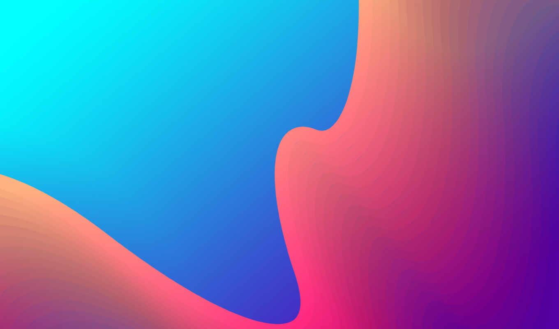 abstract, оранжевый, gradient, blue, mobile,