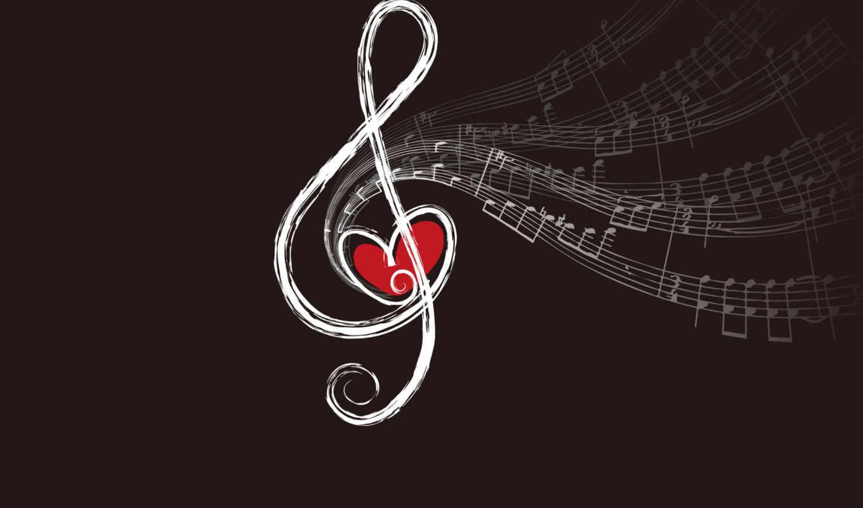 sevgi, wallpaper, heart, music, love, clef, notes, background, hd, sheet, чтобы, wallpapers,