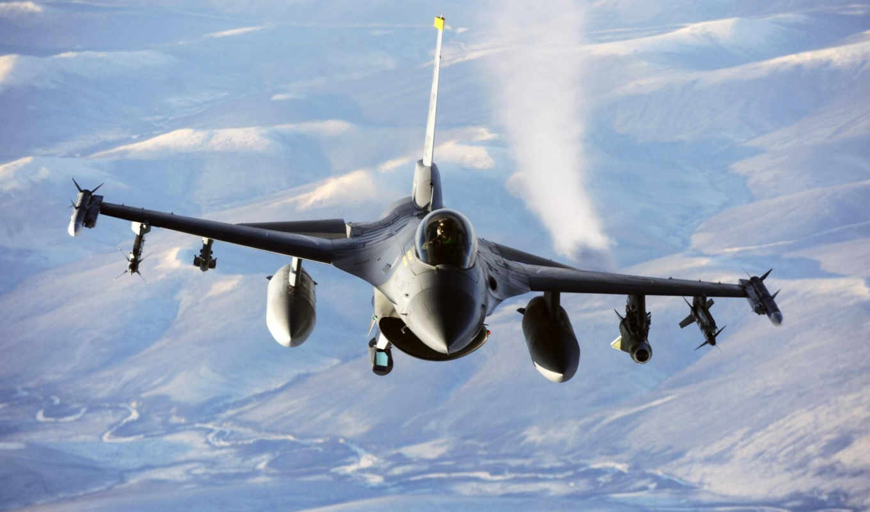 falcon, fighting, general, dynamics, aircraft, истребитель, air, airplanes, military, force, multi, высота, jet,