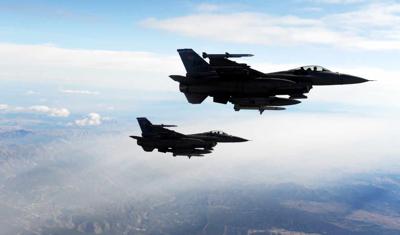 авиация, fighting, falcons, картинка, широкоформатные,
