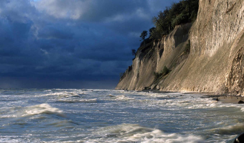cliffs, ocean, chalk, germany, national, park, jasmund, sea, free, rugen, desktop, island, уважайте,