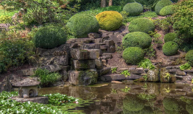 картинка, германия, природа, кустики, скалы, паркс, park, dortmund,