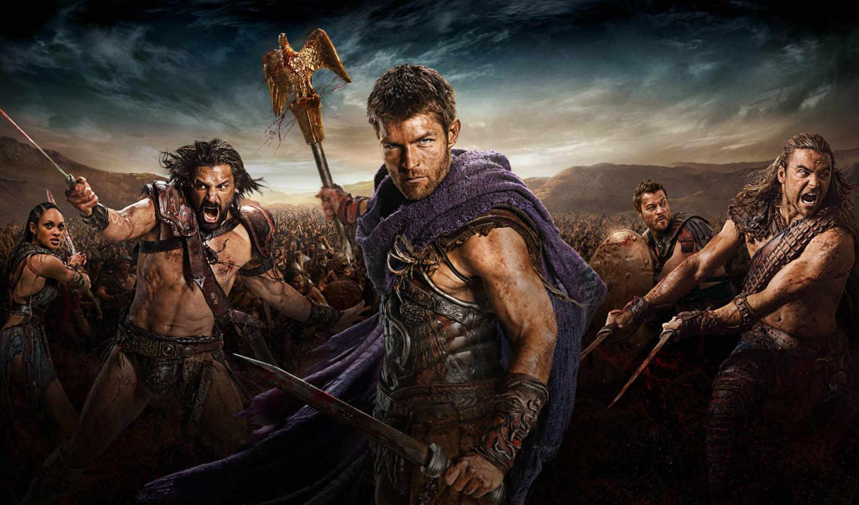 spartacus, серия, кровь, песок, damned, war,