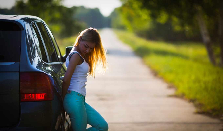 дорога, девушка, car, chevrolet, авто, vehicle, you,