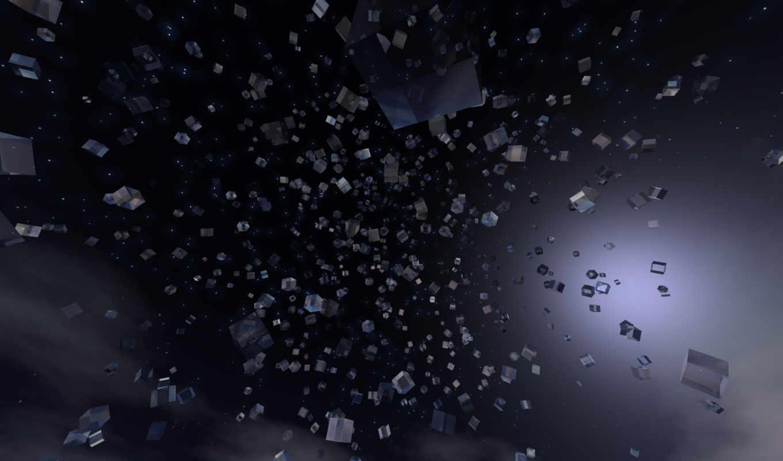 form, cubes, glass,