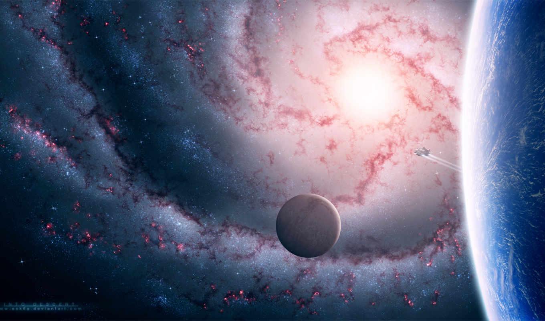 новым, вселенная, мирам, мечтам, спутник, планета, картинка, картинку, кнопкой, мыши, galaxy, spaceship,