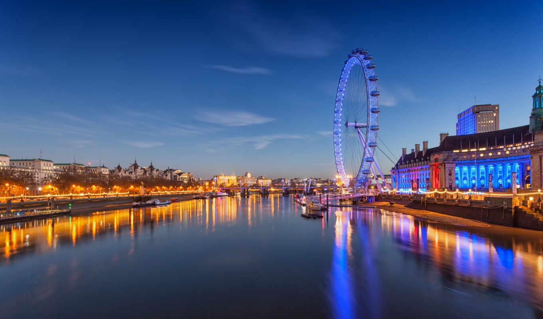 london, колесо, обозрения, millennium, глаз, англия,
