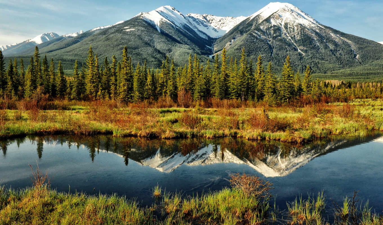 природа, mountains, landscape, отражение, landscapes, озеро, гора, clouds, like,