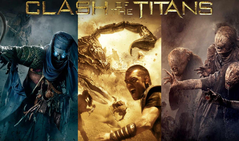 clash, titans, битва, титанов, movie, resolution, movies, war, desktop,