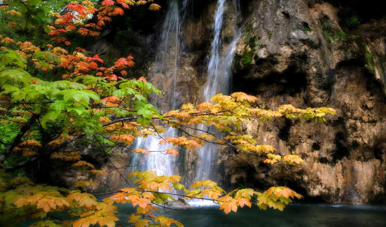 водопады, природа, godafoss, iceland,