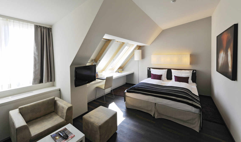 спальня, спальни, интерьер, мансарде, комната, ремонт, кровать, можно, dome, design,