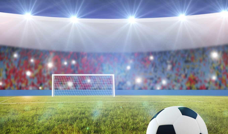 ,поле,мяч,ворота,
