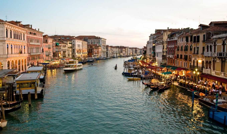 canal, grand, rialto, italian, картинка, venice, resort, nice, люкс, гавань, free