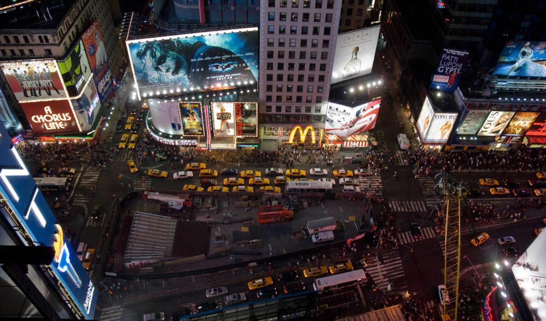 york, , square, cover,