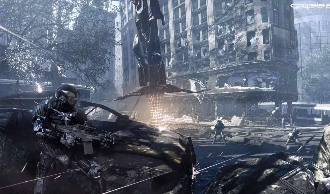 crysis, screenshots, crytek, para, aby, che, non, просмотров, more, are,