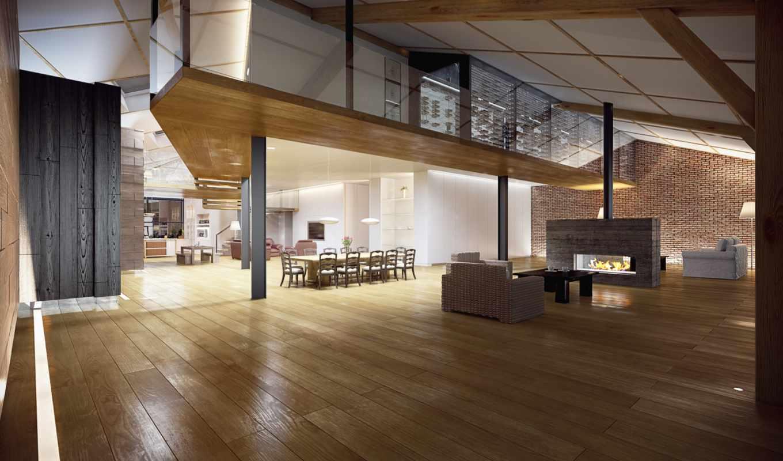 loft, stylish, design, интерьер, комната, картинка, современный, chairs, дек, living,