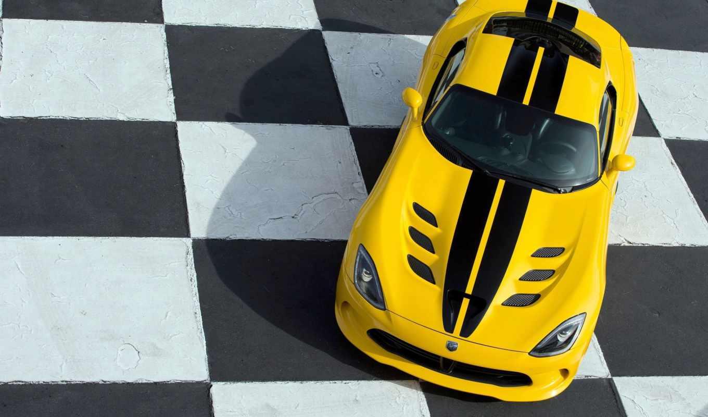 viper, srt, dodge, gts, twin, turbo, yellow, red,