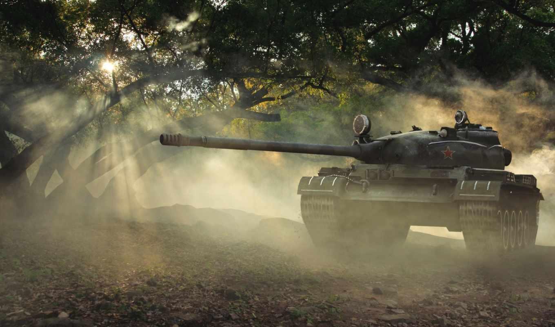 world, tanks, wot, tank, т-62, лес,