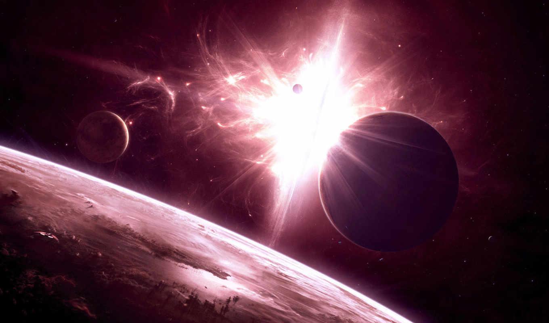 space, universe, art, desktop, del, planets, digital, www, purple, universo, космоса,