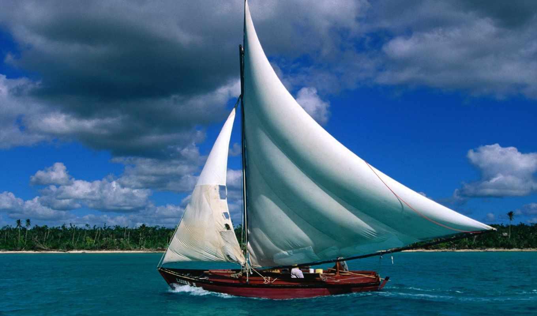 острова, карибские, рай, земле, море, чудесные,
