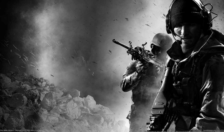 duty, колл, warfare, современный, игры, full,