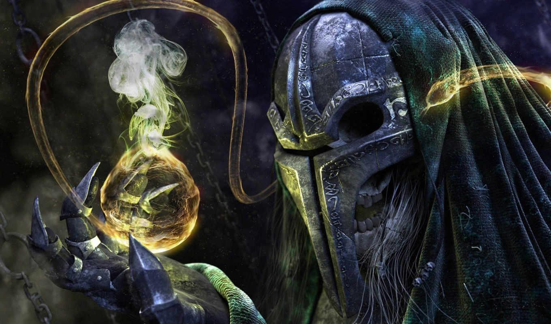 маска, когти, сфера, магия,