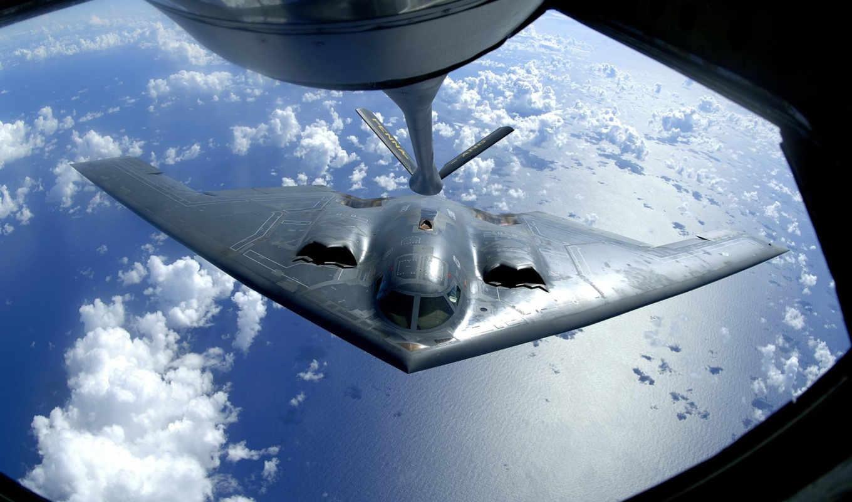 spirit, самолёт, northrop, grumman,, авиация, cool, military,, bomber, b2,стелс, b-2, spirit