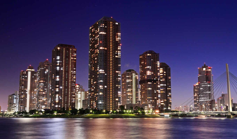городские, пейзажи -, cityscapes, телефон, страница, mobile, tokyo, города, город,