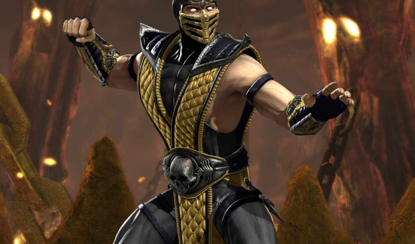 mortal, kombat, vs, dc, universe, scorpion, and, game, from, wallpaper, desktop, to, hd, download,