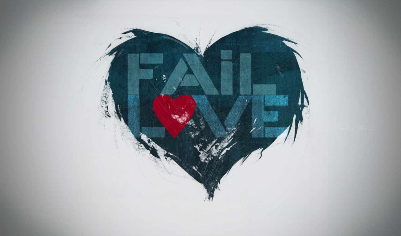 сердце, надпись, синий