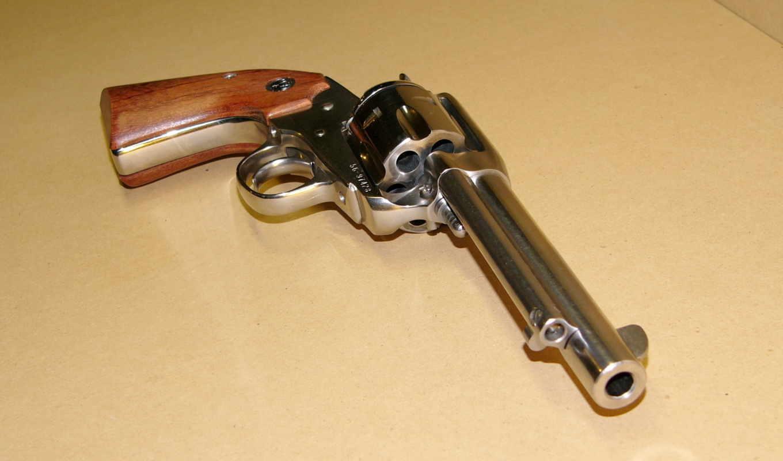 оружие, пистолет, bisley, ruger, картинку, картинка, кнопкой,