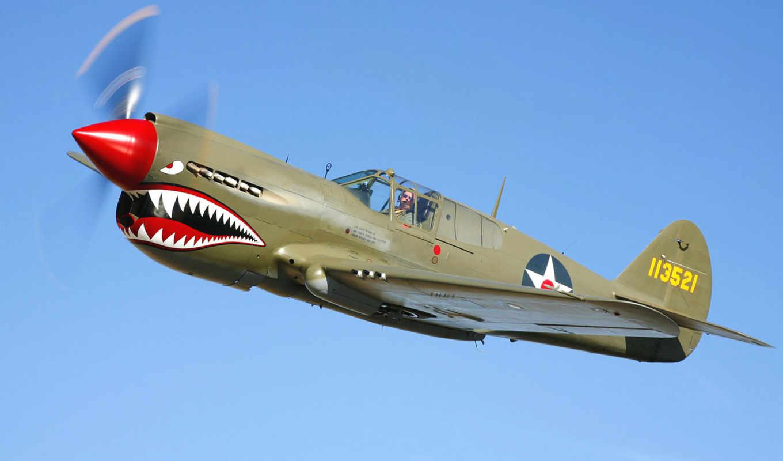 самолёт, небо, пилот, полет, истребитель, зубы, зубы,
