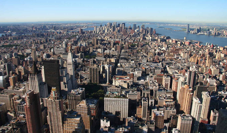 york, город, new, нью