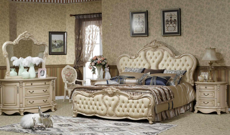классические, спальни, мебель, интерьер, без, стиль, комната,