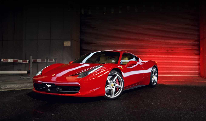 ferrari, italia, red, суперкар, автомобили, luxury,