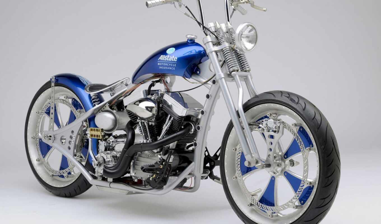 insurance, мотоцикл, custom, allstate