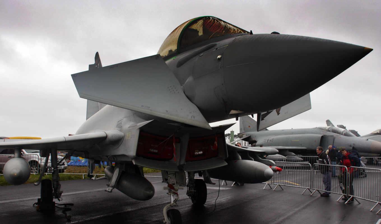 typhoon, истребитель, europower, картинка,