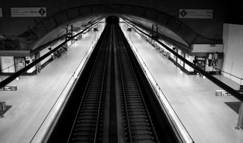 metro, высоком,
