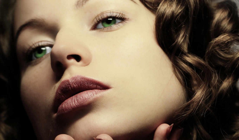 свет, глаз, зеленые, макияж, глазами, зелёных, color,