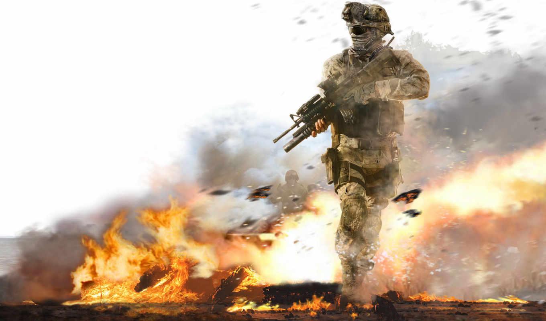 современный, warfare, duty, колл,