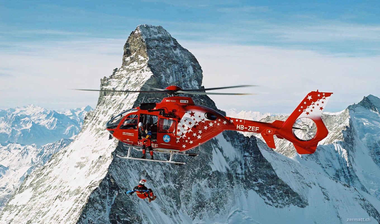 zermatt, air, hamilton, airbus, ski, helicopters, гора, company,